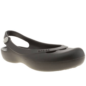 womens crocs black jayna sandals