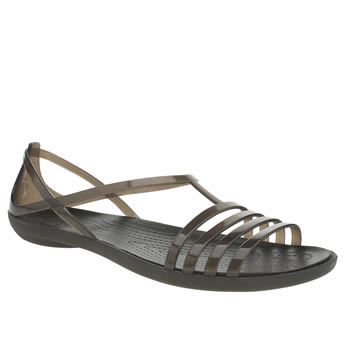 Crocs Black Isabella Womens Sandals