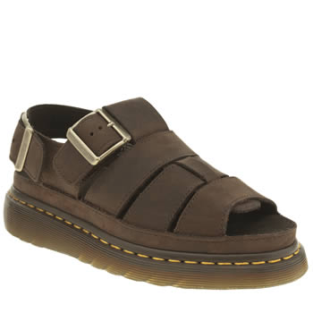 Dr Martens Brown Shore Flash Fisherman Sandals