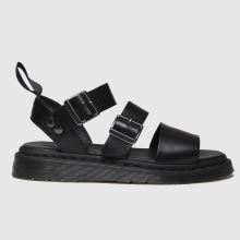 Dr Martens Black Shore Gryphon Strap Womens Sandals