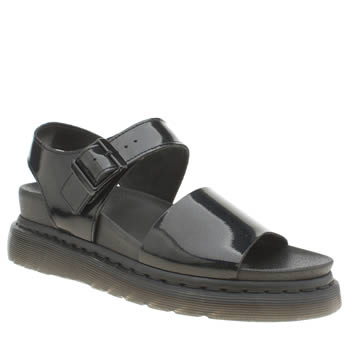 Dr Martens Black Shore Romi Y Strap Sandals