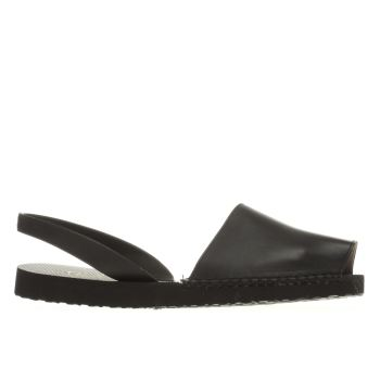 Espadilla Black Balearic Womens Sandals
