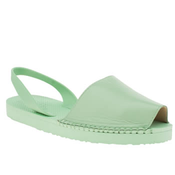 Espadilla Light Green Balearic Sandals
