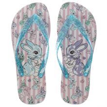 Irregular Choice Pale Blue Bunny Womens Sandals
