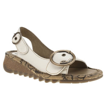 Womens Fly London Stone Tram Sandals