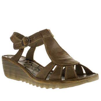womens fly london tan fly oily sandals