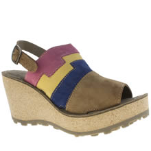 Fly London Multi Goan Womens Sandals