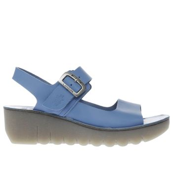 Fly London Blue Yail Womens Sandals