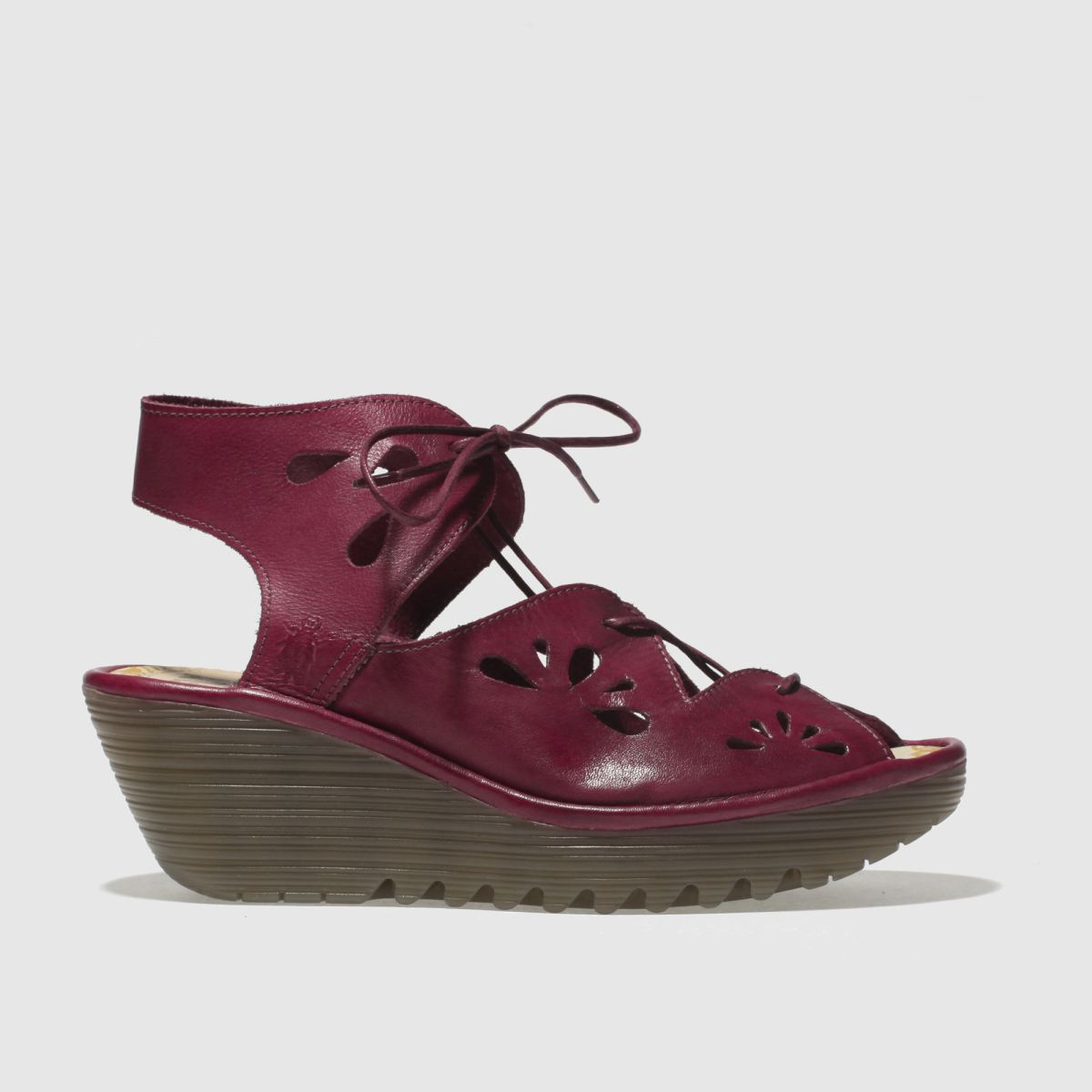 Fly London Red Yote Sandals