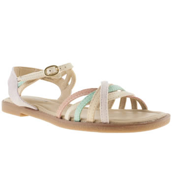 Womens Hush Puppies Lilac Caposhi Strap Sandals