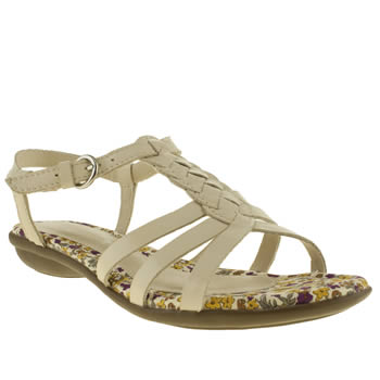 womens hush puppies stone nishi t-strap sandals