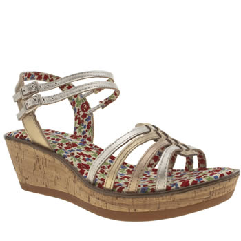 Hush Puppies Silver Roux Cork Sandals