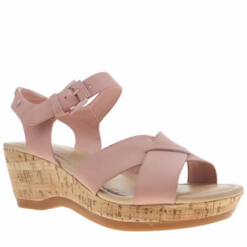 Hush Puppies Pale Pink Eva Farris Sandals