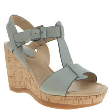 Hush Puppies Pale Blue Greta Lucca Sandals