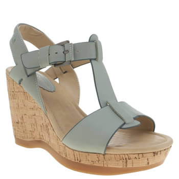 Hush Puppies Pale Blue Greta Lucca Womens Sandals