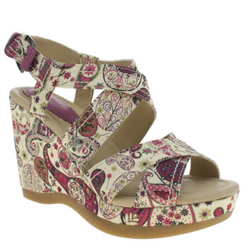 Womens Hush Puppies Multi Gillian Lucca Liberty Sandals