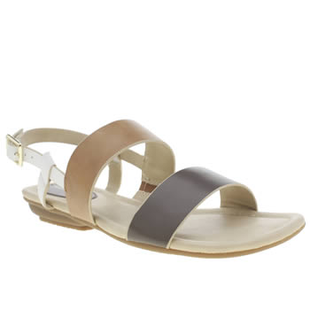 Womens Hush Puppies Tan Faith Sling Sandals