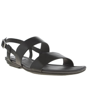 Hush Puppies Black Faith Sling Sandals