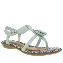 Hush Puppies Pale Blue Jeri Nishi Womens Sandals
