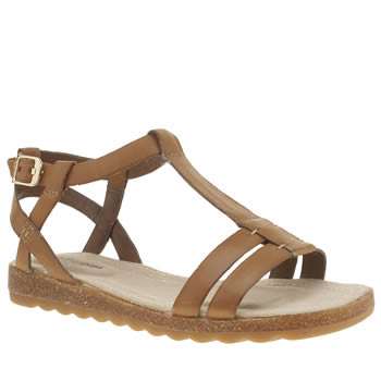 Womens Hush Puppies Tan Bretta Jade Sandals