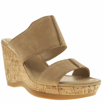Hush Puppies Tan Ena Lucca Sandals