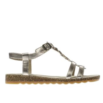 Hush Puppies Gold Ainsley Jade Womens Sandals
