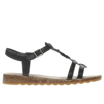 Hush Puppies Black Ainsley Jade Womens Sandals