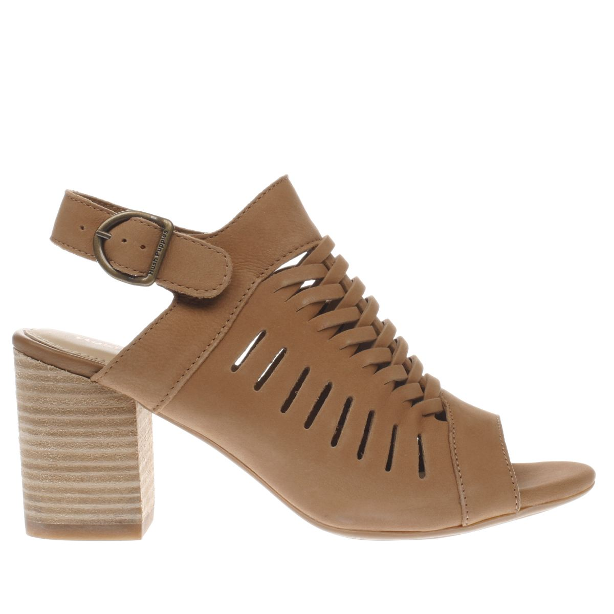 hush puppies tan sidra malia sandals