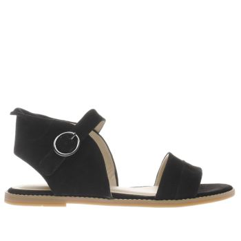 Hush Puppies Black Abia Chrissie Womens Sandals