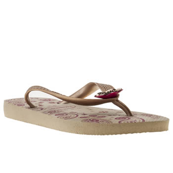 womens havaianas light grey caprice sandals