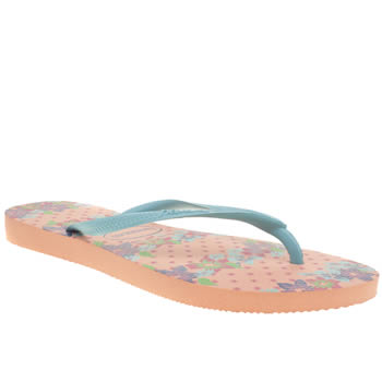 Havaianas Pale Pink Slim Provence Sandals