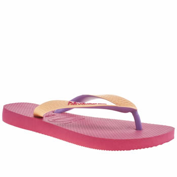 Womens Havaianas Pink Top Mix Sandals