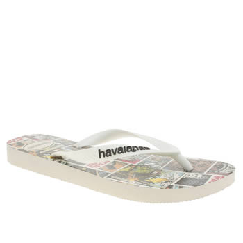 Havaianas Black & White Star Wars Sandals