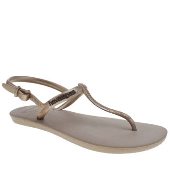 Havaianas Rose Gold Freedom Sandals