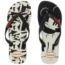 Havaianas Black & White Disney Stylish Womens Sandals