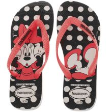 Havaianas Black & pink Disney Stylish Womens Sandals