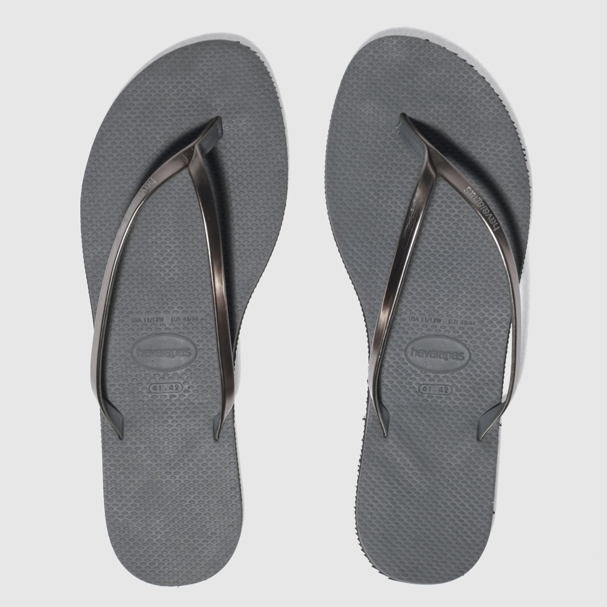 Havaianas Grey You Metallic Sandals