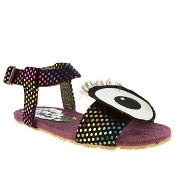 Irregular Choice Multi Eye For An Eye Sandals