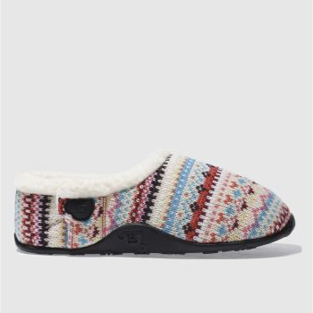 Womens Homeys Multi Lola Stripe Slippers