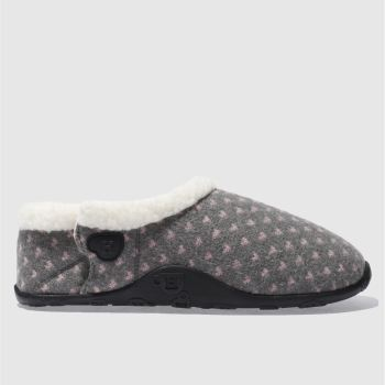 Homeys Grey Ellie Womens Slippers