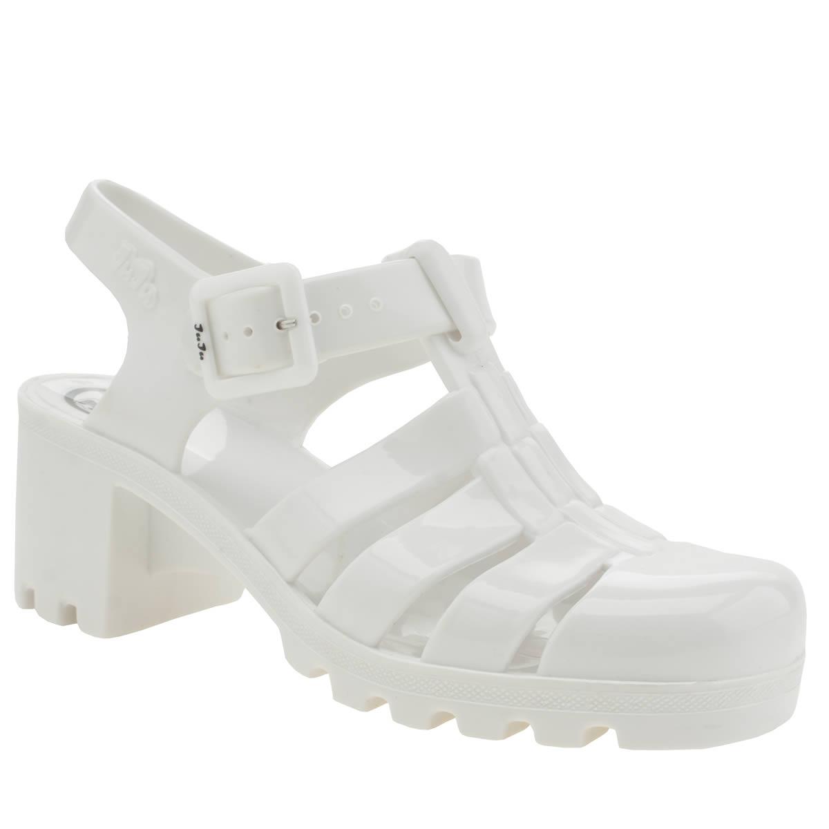 juju jellies Juju Jellies White Babe Sandals