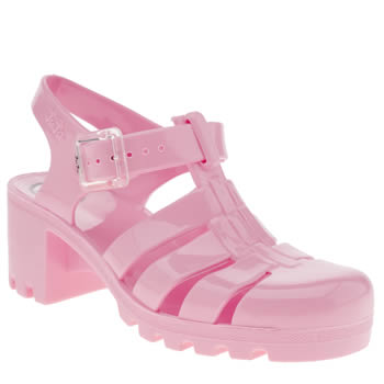 Juju Jellies Pale Pink Babe Sandals