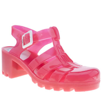 Womens Juju Jellies Pink Babe Sandals