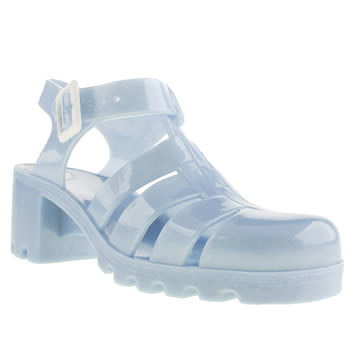 womens juju jellies pale blue babe sandals