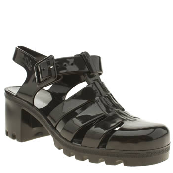 Womens Juju Jellies Black Babe Sandals