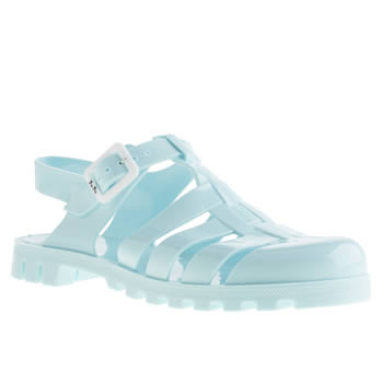 womens juju jellies pale blue maxi sandals