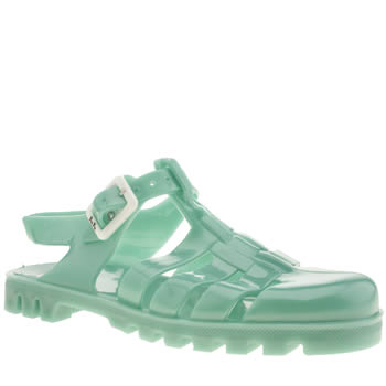 womens juju jellies turquoise maxi sandals
