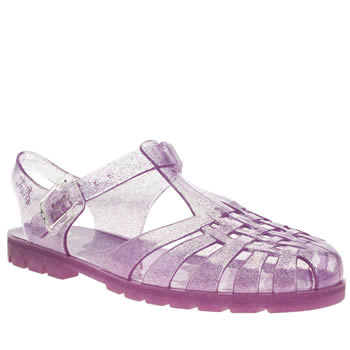 Juju Jellies Purple Reilly Sandals