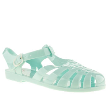 Juju Jellies Pale Blue Fisherman Sandals