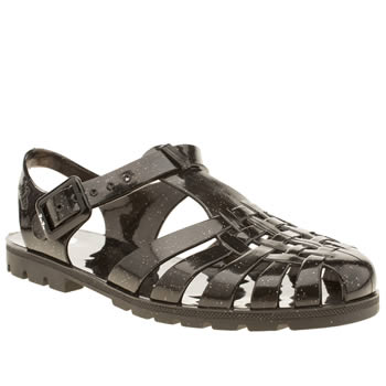 Juju Jellies Black Reilly Sandals